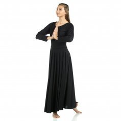 Danzcue Praise Full Length Long Sleeve Dance Dress