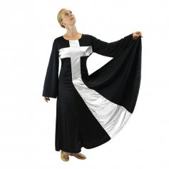 Danzcue Praise Cross Long Dress
