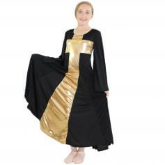 Danzcue Child Praise Cross Long Dress
