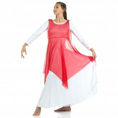 Danzcue Crepe Praise Dance Overdress (leotard not included)