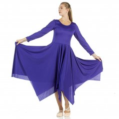 Celebration of Spirit long sleeve dance dress