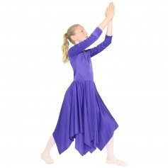 Danzcue Celebration of Spirit Long Sleeve Child Praise Dance Dress