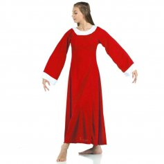 Danzcue Bell Sleeve Praise Dance Dress