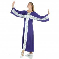 Cross Robe Worship Dress [WSD110]