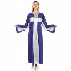 Cross Robe Worship Dress