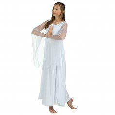 Danzcue Princess Angel Sleeve Dress