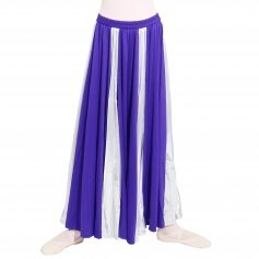 Praise Dance Long Circle Child Skirt