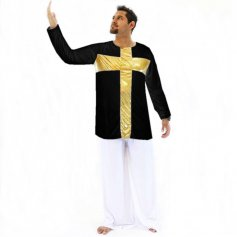 Danzcue Praise Cross Inspired Pullover
