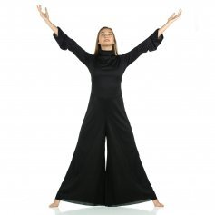Danzcue Long Sleeve Turtleneck Jumpsuit