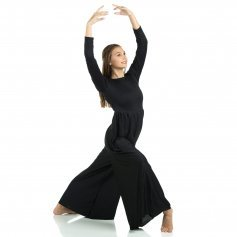 Danzcue Long Sleeve Crew Neck Jumpsuit