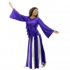 Praise Dance Pullover and Long Skirt Set