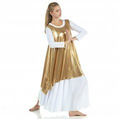 Celebration of Spirit Drapey Praise Dance Tunic Tank Pullover