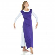 Tunic with Side Slits (white dress not included)