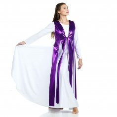 Danzcue Praise Dance Metallic Streamer Tunic (dress not included)