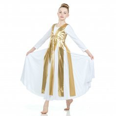 Danzcue Metallic Streamer Tunic (dress not included)
