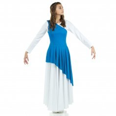 Danzcue Asymmetrical Praise Dance Tunic (dress not included)