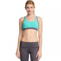 Ya Los Angeles Colorblocked Sports Bra