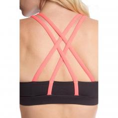 Ya Los Angeles Athletic Sports Bra With Crisscross Back Detail